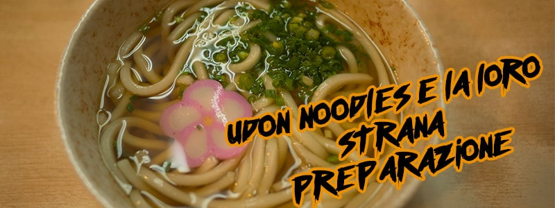 Udon noodles- cucina- giapponese